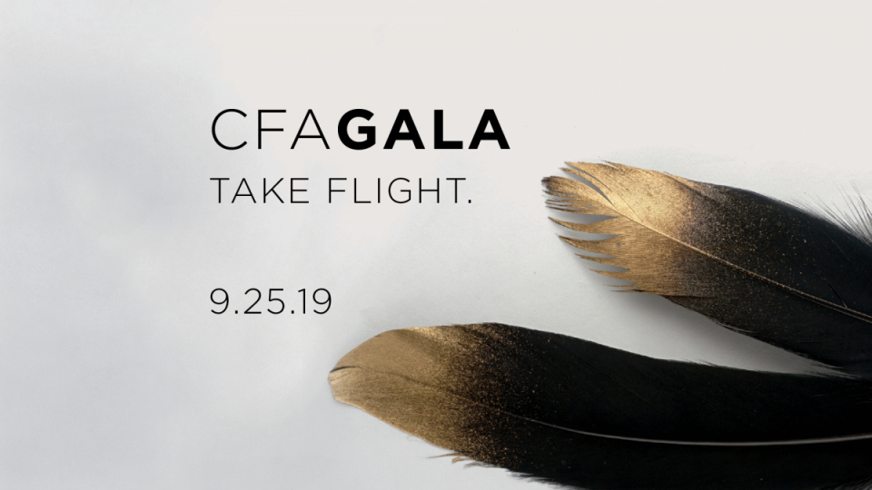 The CFA Gala on September 25th Is A Night Not To Miss